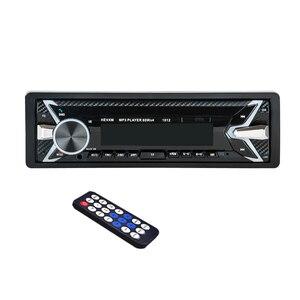 Image 4 - 1012 Auto MP3 Lettore 12 v Blu dente V2.0 Auto Audio Stereo In dash Singolo 1 Din FM Ricevitore ingresso Aux MP3 MMC WMA Radio Player
