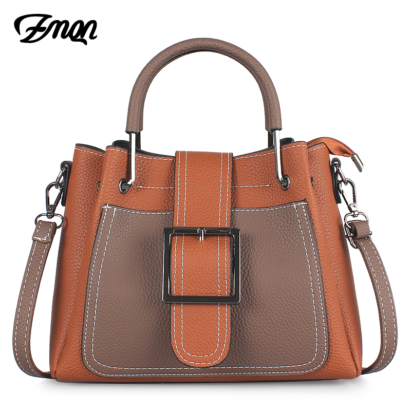 ZMQN Women Bag Designer Luxury Handbags Famous Brand Crossbody Bags For Ladies PU Leather Fashion Shoulder Bags Female Hasp C635 fashion luxury handbags women leather composite bags designer crossbody bags ladies tote ba women shoulder bag sac a maing for