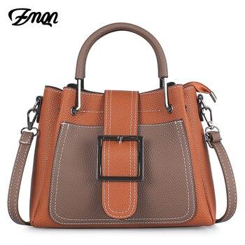 dc30dcace7 ZMQN femmes sac Designer sacs à main de luxe célèbre marque sacs à  bandoulière pour dames PU cuir mode sacs à bandoulière femme moraillon C635