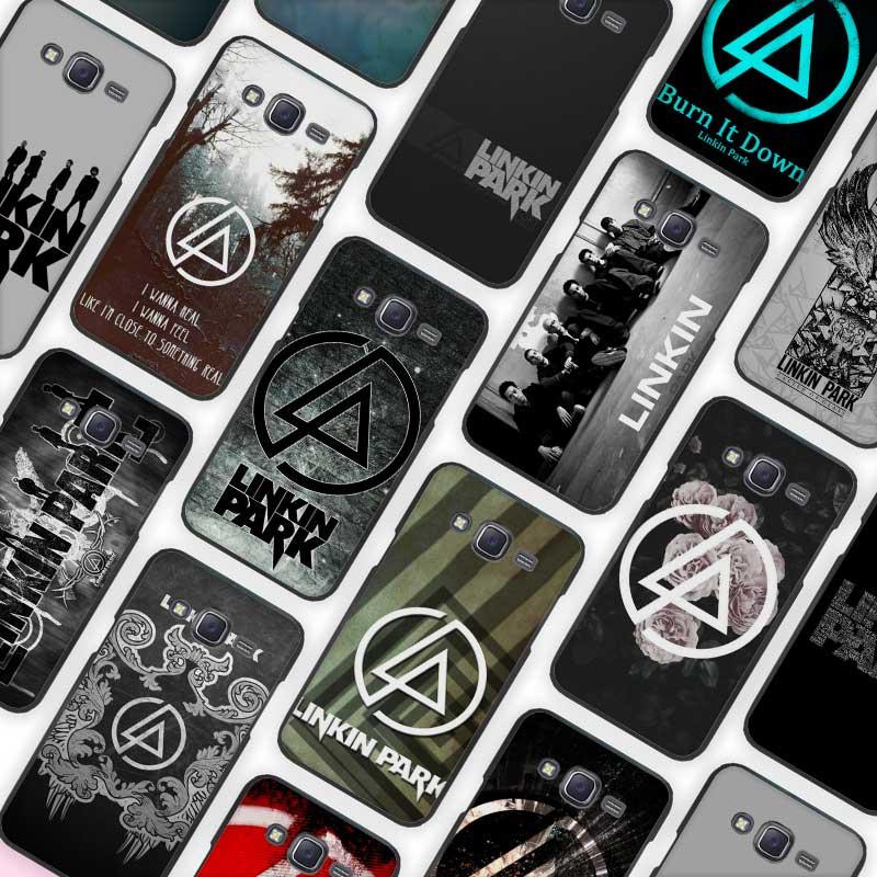 linkin park Black Case Cover Shell Protective for Samsung Galaxy J1 J2 J3 J5 J7 2016 2017