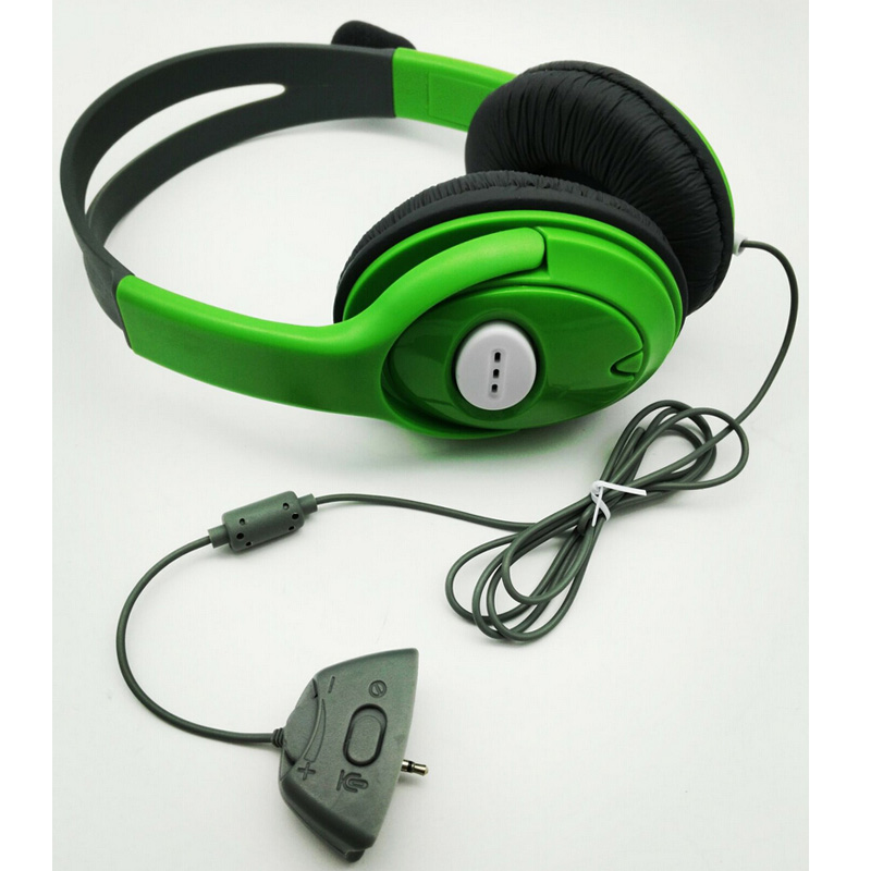 DOITOP For XBOX360 Gaming Headset Headphone with Mic Microphone Earphone for XBOX 360 Game Chatting Headset A3 зарядное устройство для xbox xbox360 x360 pc