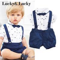 Одежда для новорожденных, хлопковые детские комбинезоны для мальчиков, одежда с короткими рукавами для малышей