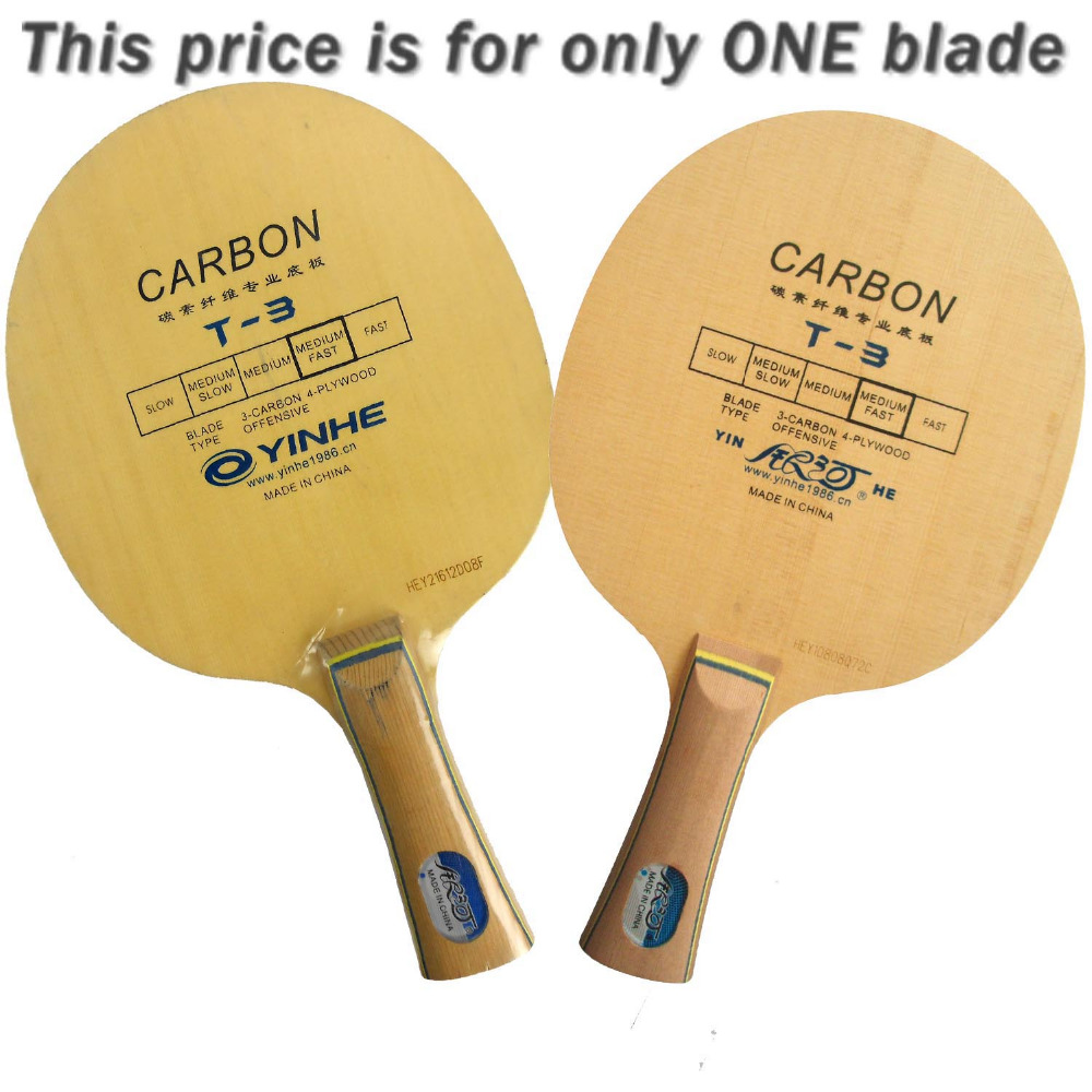 Yinhe Milky Way Galaxy T-3 T3 T 3 Juniper&Carbon table tennis PingPong blade 2015 The new listing Favourite
