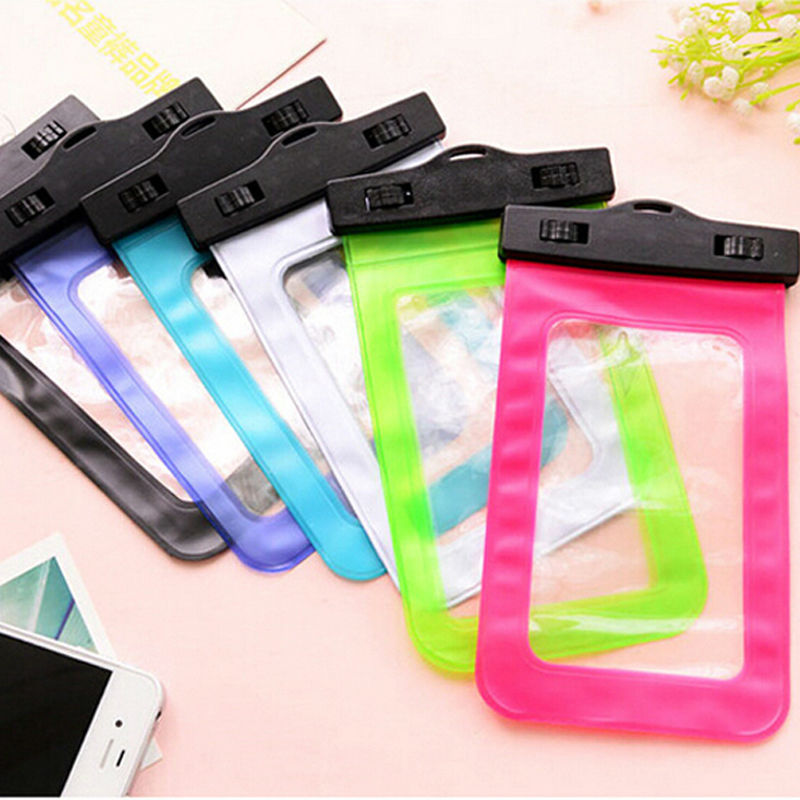 HOT 2016 new 5 Colors Available 100% Sealed Waterproof Bag Pouch Phone Case For Apple iPhone 6 6S Plus For Samsung For LG Nexus