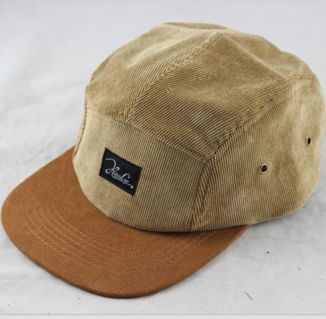543b4a9b596 Corduroy suede 5 panel snapback hats five panel baseball cap for men women  outdoor sports hip hop gorras hat casquette-in Baseball Caps from Apparel  ...