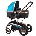 Cochecito de bebé 3 En 1 Cochecito Plegable Cochecito Plegable De Aluminio Cochecito de Bebé Empuje Coche Stokke Buggy Poussette