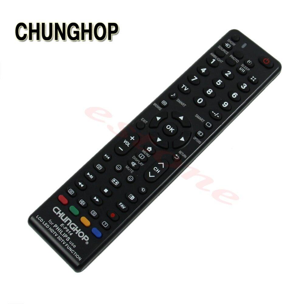 CHUNGHOP TV Remote Control Universal Remote Control E-P914 For Philips