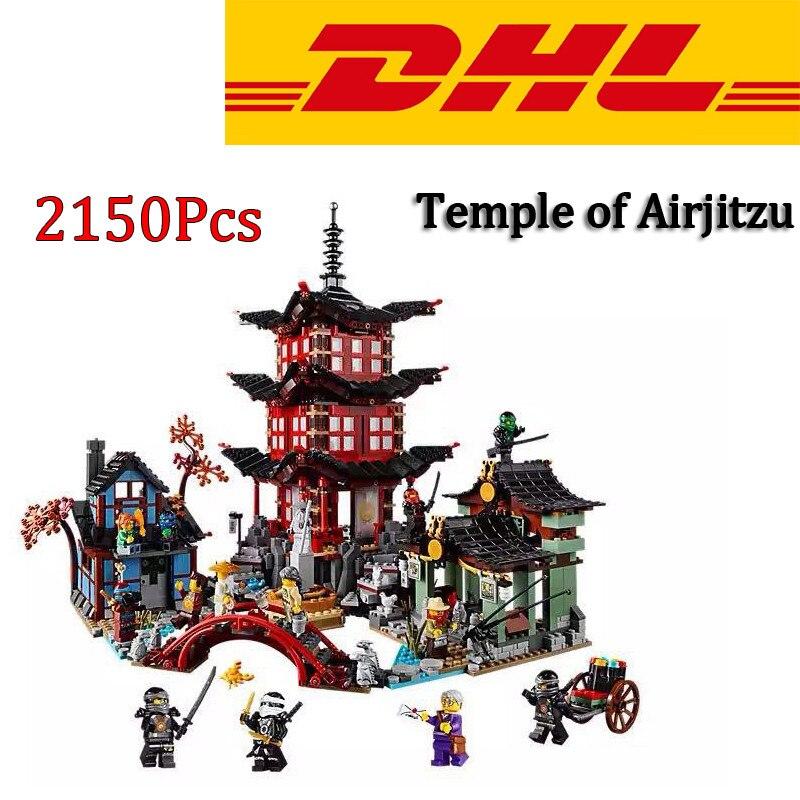 2016 lepin 06022 Ninjagoed City of Stiix Building Blocks Temple of Airjitzu minifigures Bricks Toys Compatible