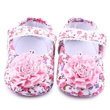 2018Fashion Infant Toddler Baby Girls Kids Shoes First Walkers Floral