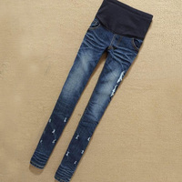 Maternity Clothes Jeans Woman Elastic Waist Denim Maternity Jeans Pants Trousers Clothes For Pregnant Women Pregnancy Clothes
