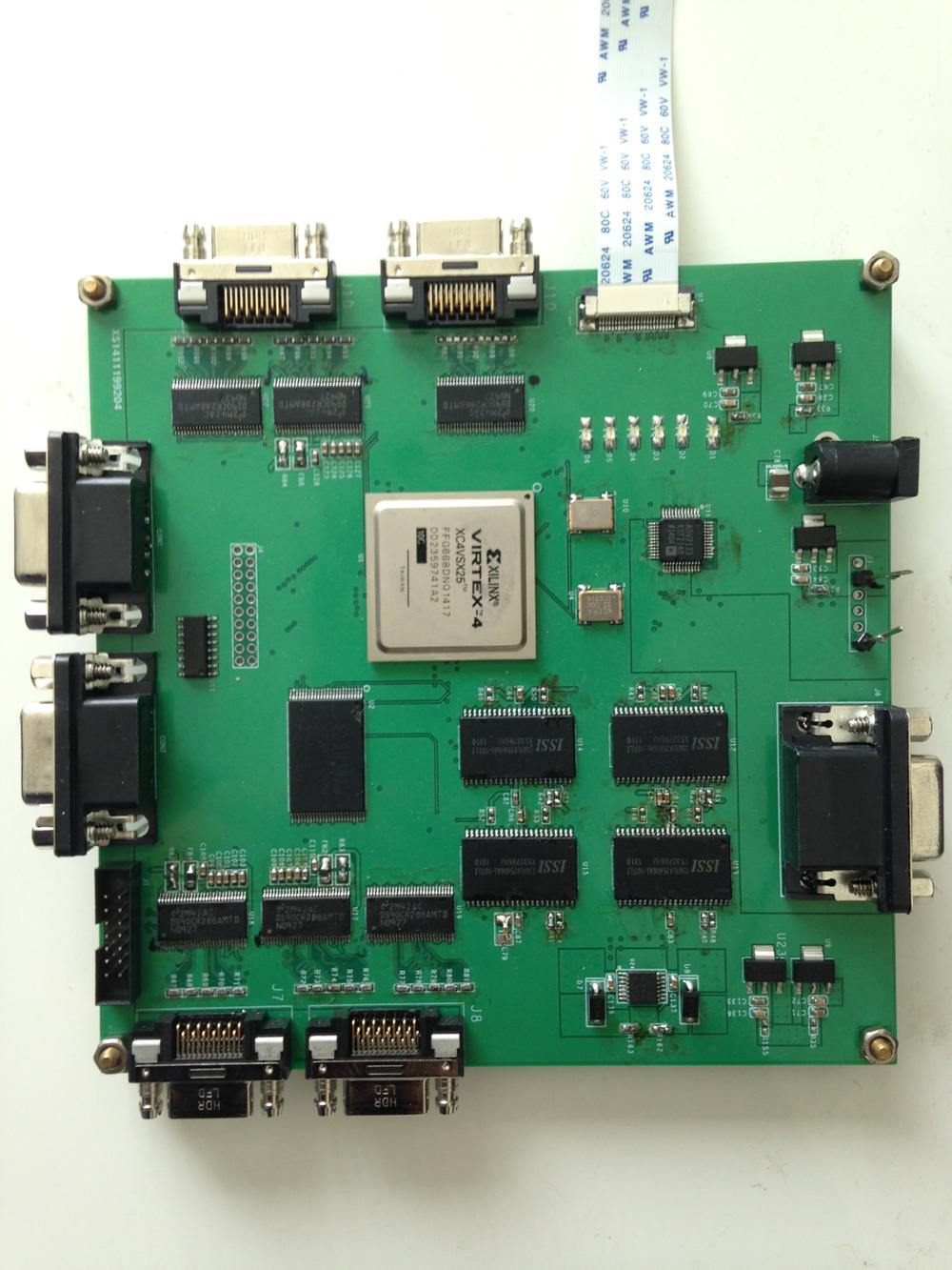 Cameralink development board PCI image acquisition card customized FPGA-HDMI coded -LVDS camera