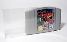 10 pièces beaucoup Transparent protecteur de cartouche pour N64 jeu carte en plastique PET Case boîtes