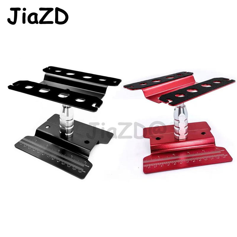 1PC 1/8 1/10 RC Cars Metal Repair Station Work Stand Assembly Platform for RC Rock Crawler Climbing Cars Model Parts Accessories