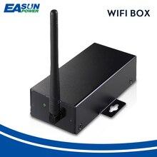 EASUN güç WiFi kutusu WiFi kartı ile kablosuz cihaz RS232 uzaktan izleme çözümü için kapalı ızgara hibrid güneş güç inverteri