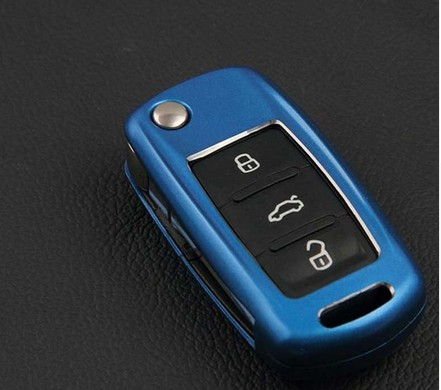Abs Plastic Key Fob Protect Cover Case For Vw Jetta Tiguan Polo Passat B5 B6 Golf Mk5 6 Car Case Key For Skoda Octavia Keychain luminous glow ignition switch decoration key ring sticker for skoda octavia fabia yeti vw passat bora polo golf 6 jetta mk5 mk6