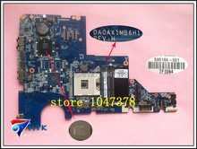 Wholesale 595184-001 Laptop motherboard for HP G62 G42 G72 CQ42 CQ62 595184-001 31AX1MB0020 DA0AX1MB6F1 100% Work Perfect