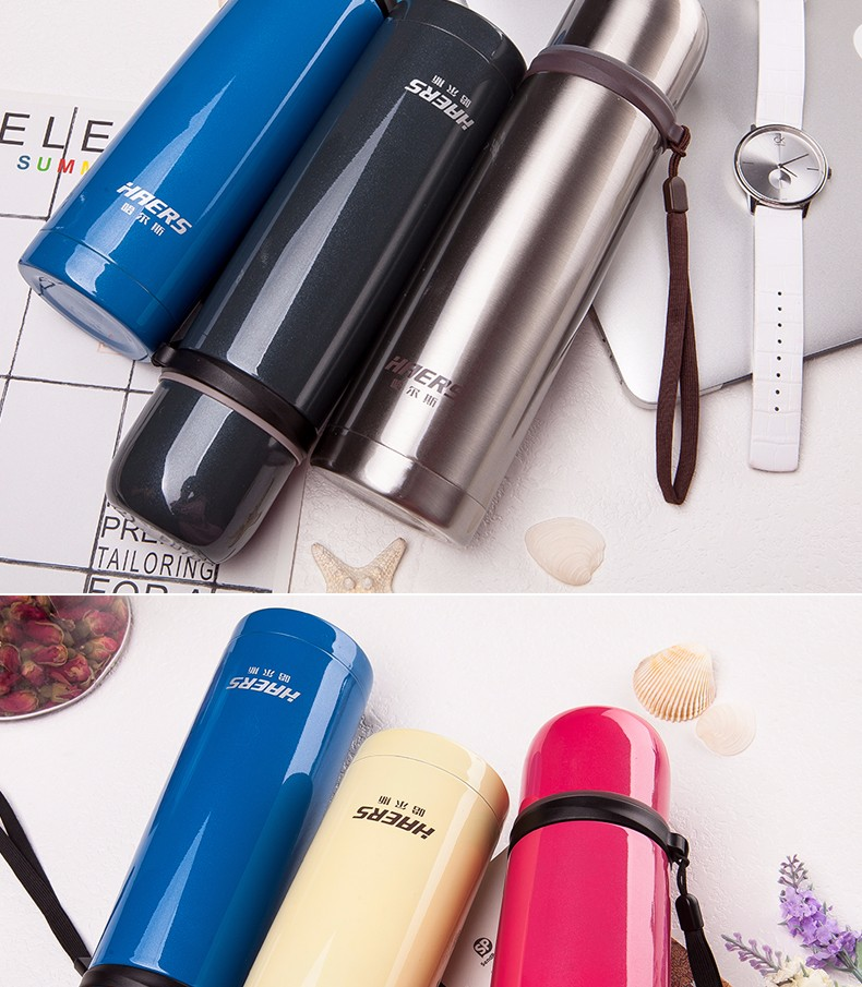 multi color ss flask