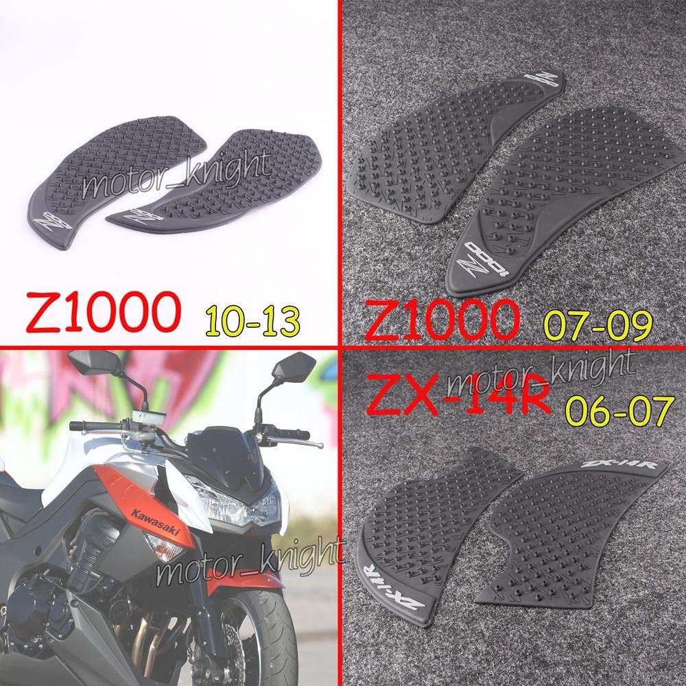 Мотоцикл наклейки Танк тяги Pad Сторона газа Колено сцепление протектор для KAWASAKI ZX-14R ZZR1400 GTR1400 2006-2016 Z1000 2007-2013