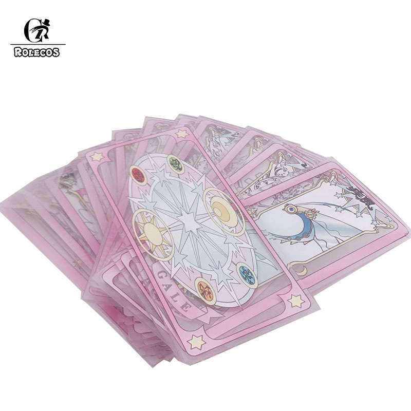 Of Card Fancy Magic Transparent Clow Card With Stage Cosplay Prop Acrylic Card Cosplay Prop Persona A Set Of Card 23 Pieces