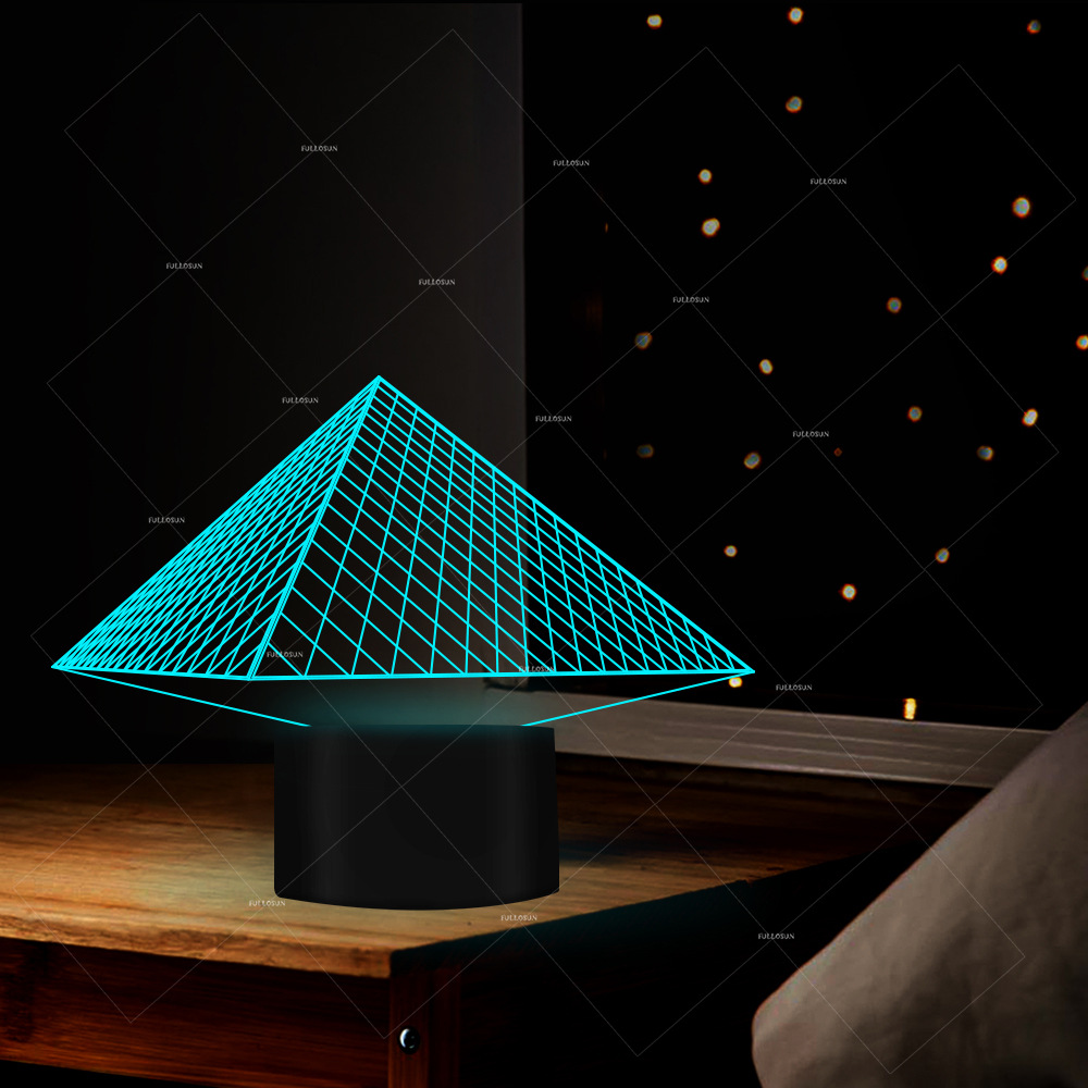 Pyramid Building 3d Lamp Touch Home Creative Led Night Lamp Power Bank Led 3d Led Night Light Christmas Gift Childrens ToysPyramid Building 3d Lamp Touch Home Creative Led Night Lamp Power Bank Led 3d Led Night Light Christmas Gift Childrens Toys
