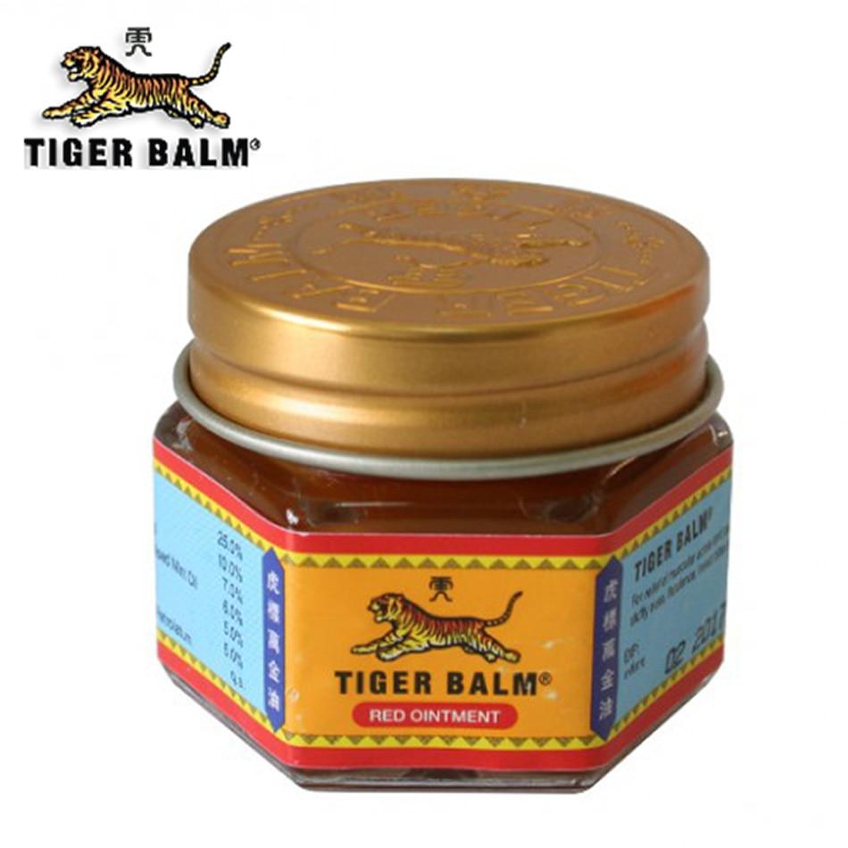 100 Original 19 4g Red Tiger Balm Ointment Thailand