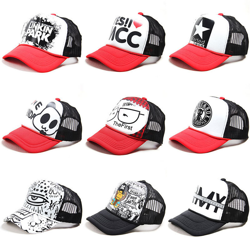 Brand Summer Baseball Cap Adjustable Snap-back Hats for Women Golf Caps Graffiti Sun Caps Hip Hop Visor Spring Hat(China)