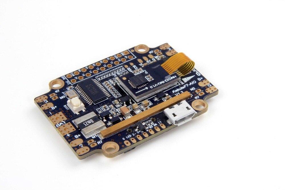 Holybro Kakute F7 AIO Controllori di Volo STM32 F745 Betaflight OSD Volo Controller Supporta BLHeli Integrato BMP280 PID IMU-in Componenti e accessori da Giocattoli e hobby su  Gruppo 3
