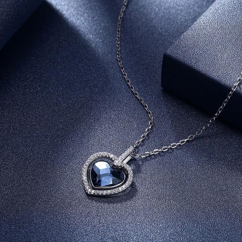 Купить ожерелья высокого качества серебряного цвета для женщин ожерелье