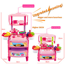 Play kitchen cooking set