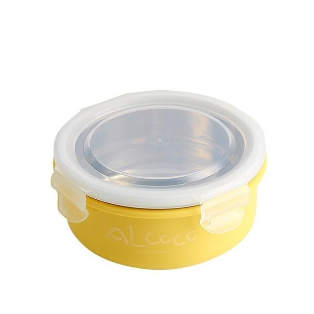 Da criança do bebê crianças dinnerware pratos suporte pratos tigela de comida prático de aprendizagem das crianças de alimentação do bebê talheres