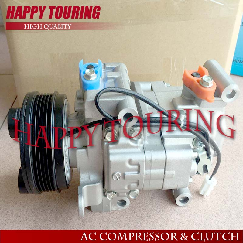 Air-conditioning Installation Automobiles & Motorcycles 2019 Fashion High Quality Ac Compressor For Car Mazda 3 M3 1.6 L 2003 2004 2005 2006 2007 2008 2009 H12a1ag4dy Bp4k61k00 H12a1ag4dy
