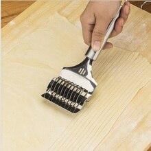 1 шт. из нержавеющей стали Spaghett лапша производитель решетки роллер-Докер тесто резак инструмент кухня помощник DIY Тесто режущий инструмент