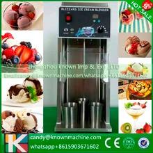 new designed stability frozen yogurt blending kinds of nut fruit ice cream mixer machine