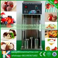 Новый дизайн стабильность замороженный йогурт смешивания виды гайка фрукты Мороженое смеситель