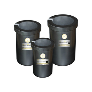 Image 2 - High Purity Graphite Crucible Crucible ZVS  Induction Furnace Can Be Quartz Coat Collocation