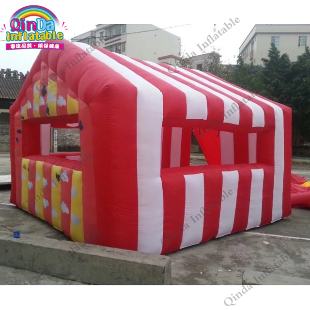 Inflatable Christmas Booth New Arrivals 2018 Festival Christmas Showcase for sale