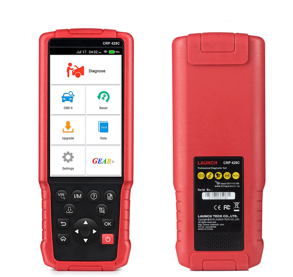 LAUNCH X431 CRP 429C code reader scanner crp129 (5)