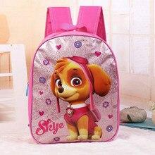 Neuf de Haute qualité imperméable à l'eau épaules sac Enfants Princesse Kim poudre de bande dessinée mignon chien motif fille cadeau pour enfants sacs d'école