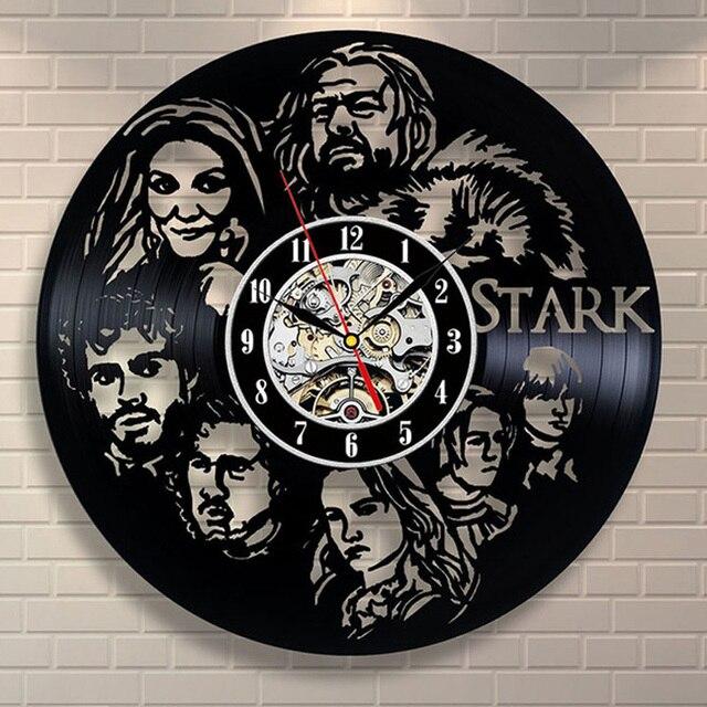 """Game of Thrones"" Vinyl Wall Clock  5"