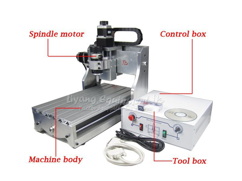 Best peice!300W DC power spindle motor cnc router machine CNC 3020T-D300, upgraded from CNC 3020T cutting machine  cnc router 3020z d 300w spindle 3 or 4axis cnc cutting machine