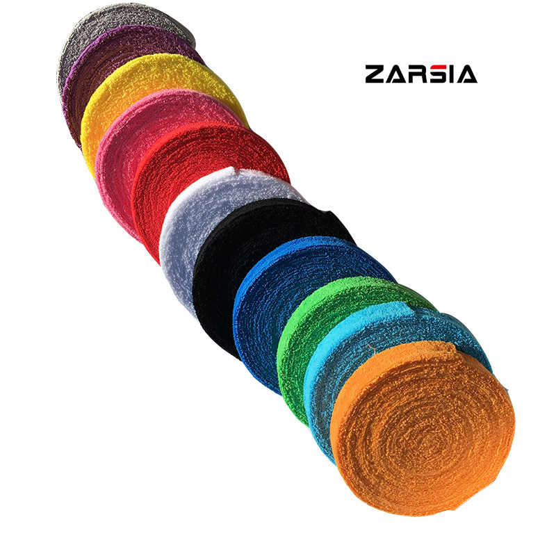 ZARSIA 1 Reel 10M Towel glue grip,cotton badminton tennis overgrips ,badminton racket overgrips Free shipping