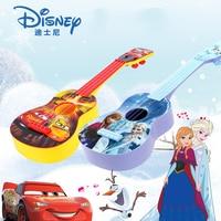 Disney uklele music toy princess princess guitar simulation can play children's musical toys