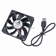 5 Pieces GDT 80x80x15mm 8015 Computer Case USB 2.0 80mm 8cm 5V DC Cooling Fan