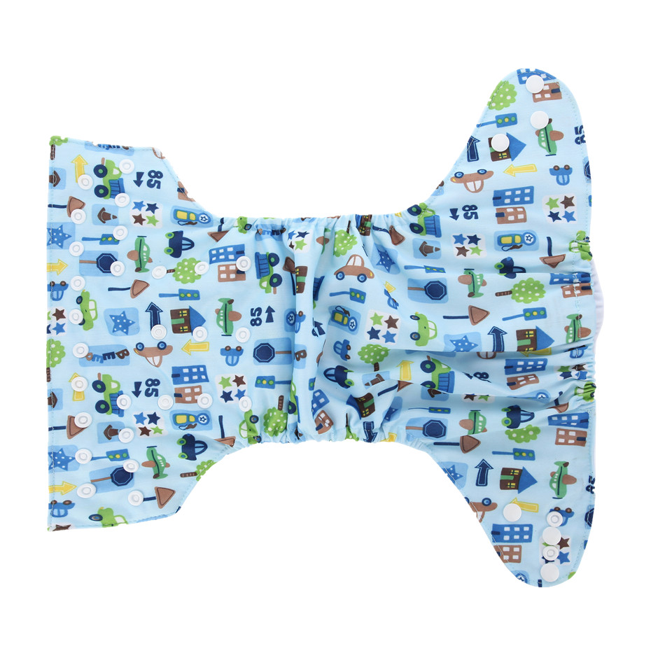 10 komada perive pelene bebe pelene cover crtani tisak beba štap - Pelene i toaletni trening - Foto 4