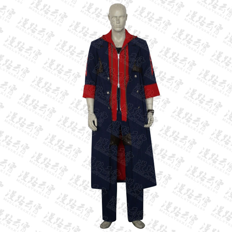 ⊰Devil may cry 4 Nero Cosplay traje Halloween uniforme Camisa + ...