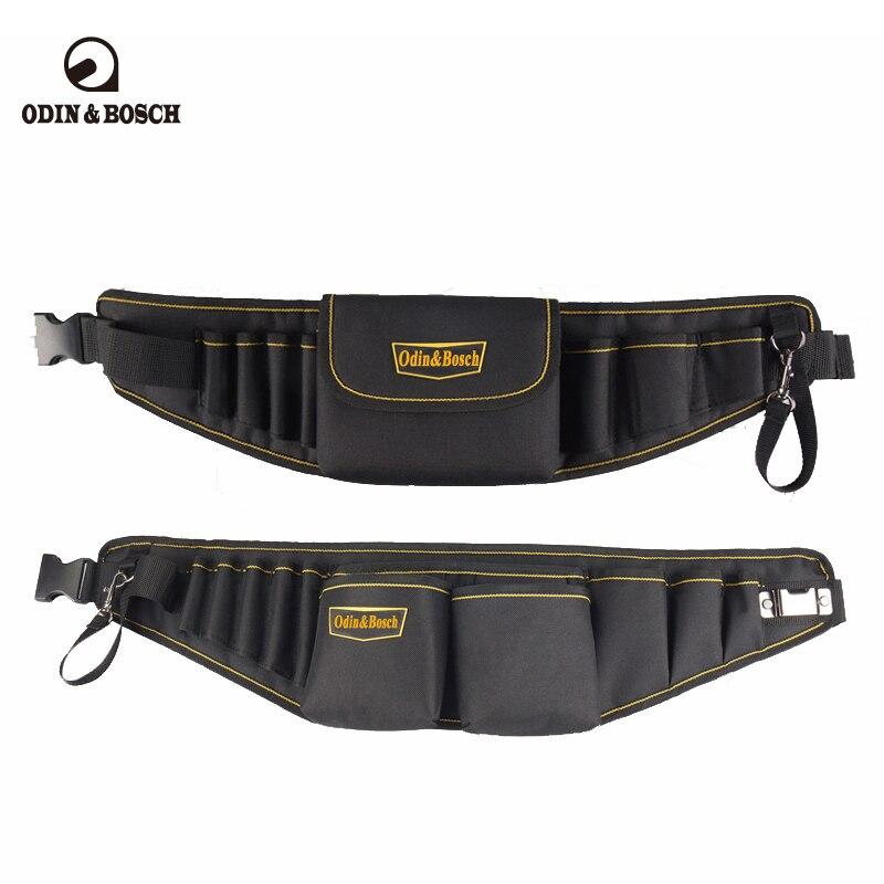 Odin&Bosch Electricians Waist Pkt Tool Belt Pouch Bag Screwdriver Carry Case Holder Outdoor Working Tool Belt Pouch рюкзак zipit zshl pkt pink