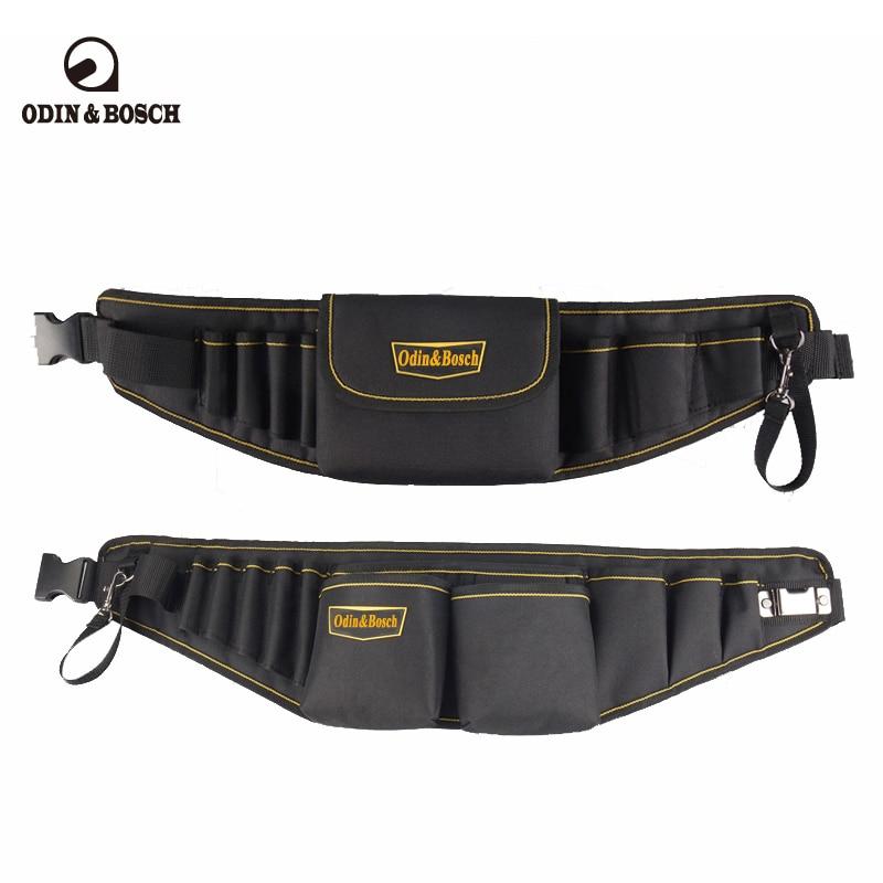 Odin&Bosch Electricians Waist Pkt Tool Belt Pouch Bag Screwdriver Carry Case Holder Outdoor Working Tool Belt Pouch
