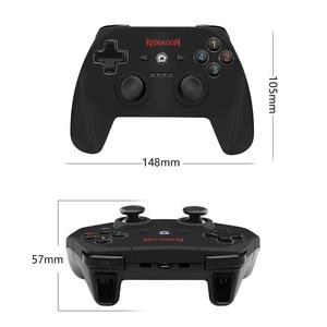 Image 5 - Redragon HARROW G808 Wireless Gamepad, PC Game Controller mit 10 Tasten, Harrow, für Windows PC,PS3, Playstation,Android,Xbox 360