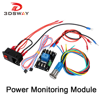 3DSWAY 3D Printer Parts 3D Printer Power Continued to Play Module Printing Automatically Put off Module for Lerdge Motherboard