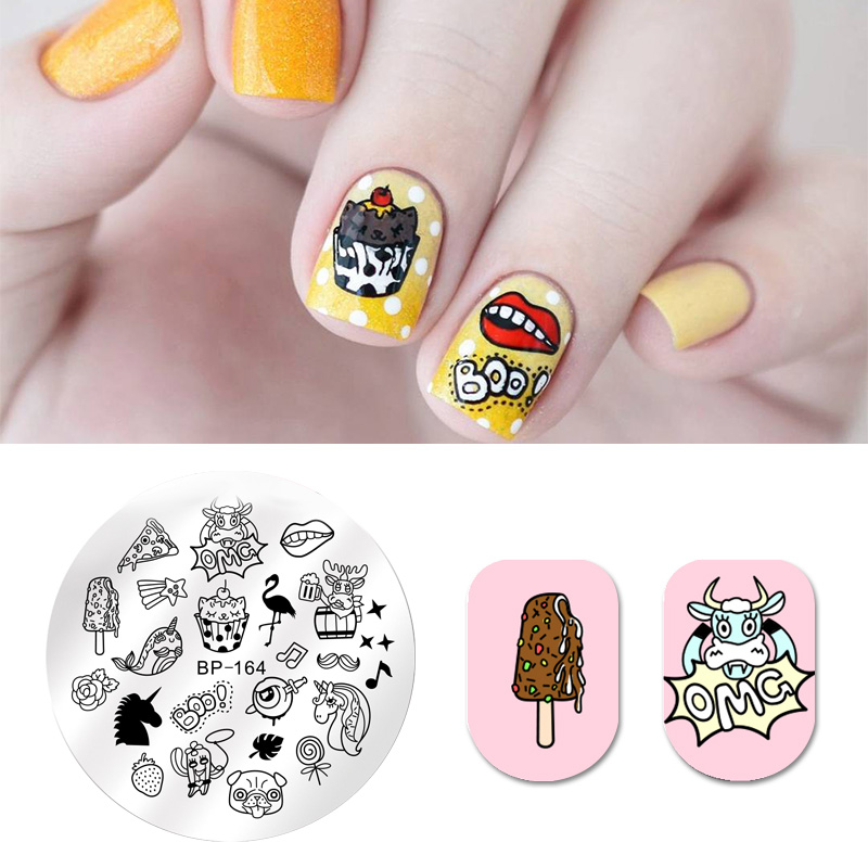 Detail Feedback Questions About Born Pretty Round Nail Stamping